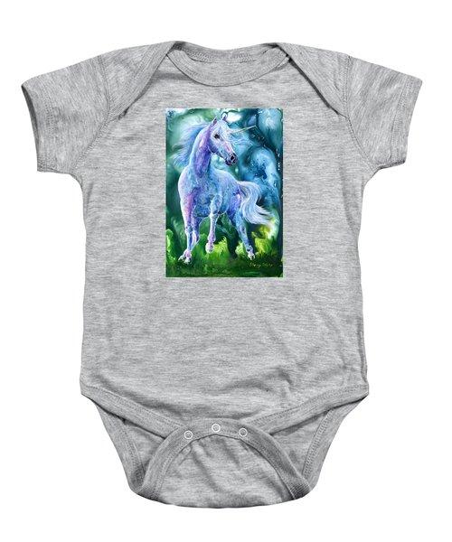 I Dream Of Unicorns Baby Onesie
