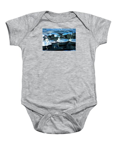 Ice Formation 10 Baby Onesie
