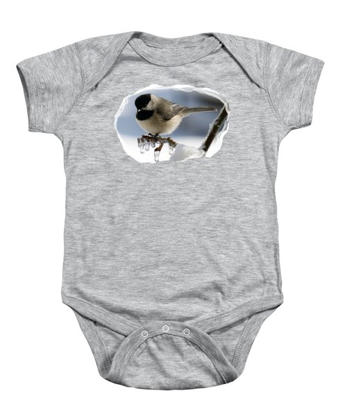 Icicle Perch Baby Onesie