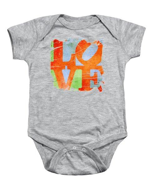 Iconic Love - Grunge Baby Onesie
