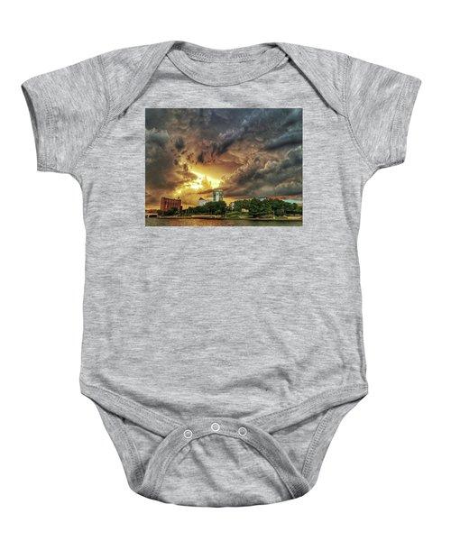 Ict Storm - From Smrt-phn L Baby Onesie