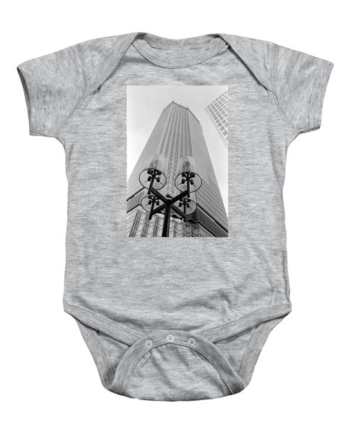 Ids  And Street Lights Baby Onesie