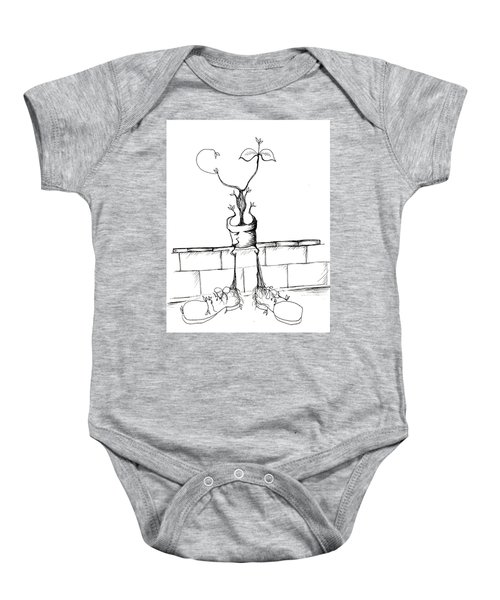 If The Shoe Fits Baby Onesie