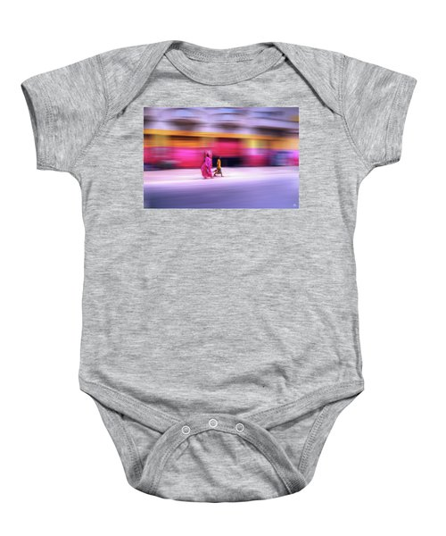 In Sync In Senegal Baby Onesie
