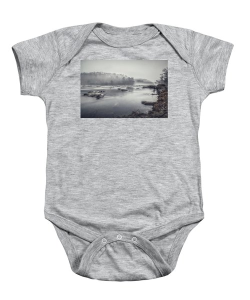 In The Fog  Baby Onesie
