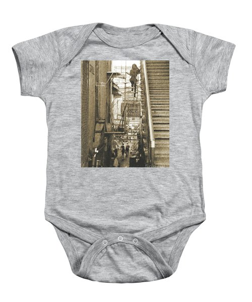 In The Middle Baby Onesie
