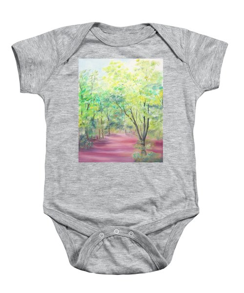 In The Park Baby Onesie