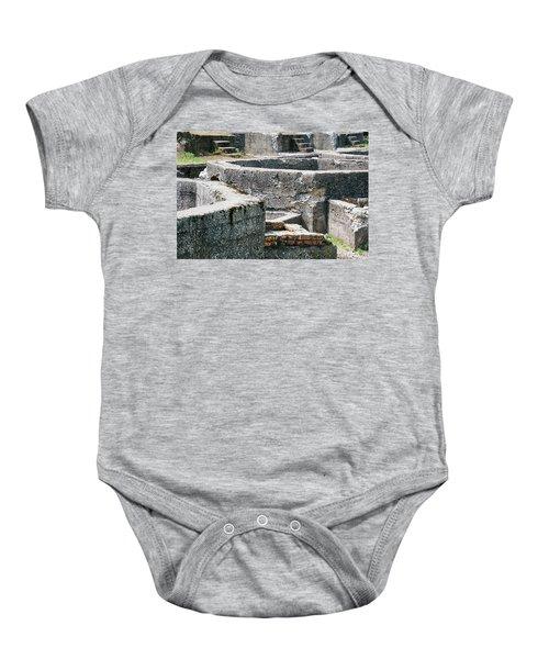 In The Ruins 6 Baby Onesie