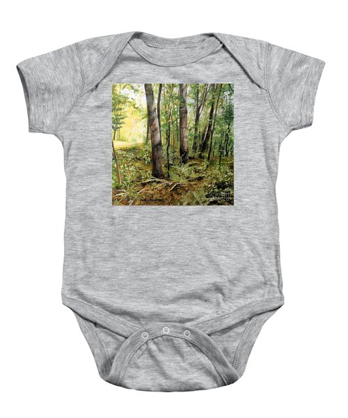 In The Shaded Forest  Baby Onesie