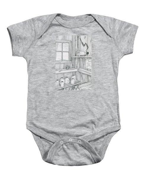 In The Sugar House Baby Onesie