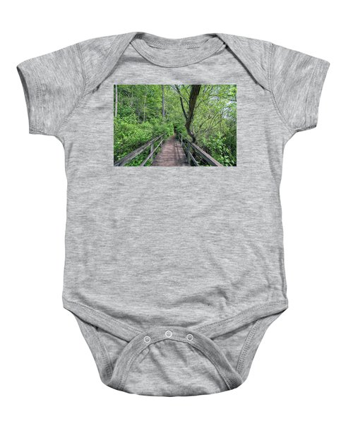 In The Trees Baby Onesie