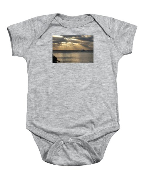 Into Dawn's Early Rays Baby Onesie