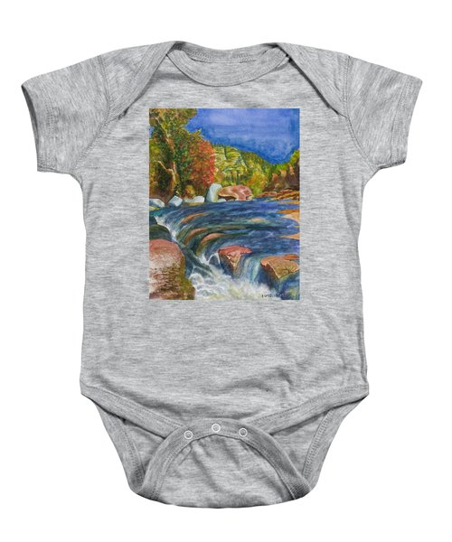 Into Slide Rock Baby Onesie