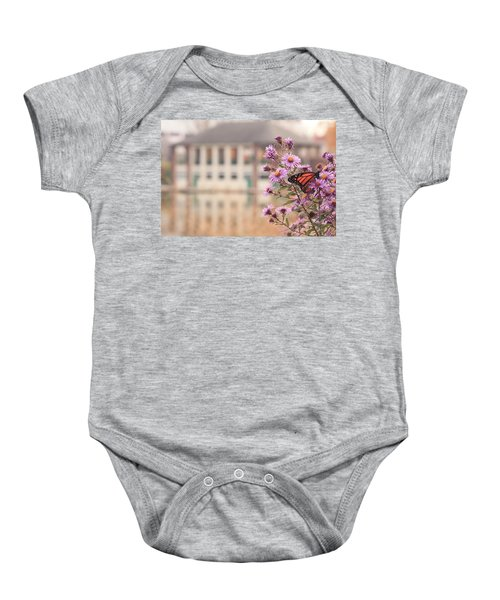 Into The Asters Baby Onesie