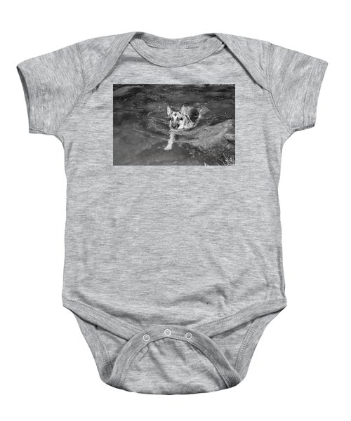 Into The Cold Baby Onesie