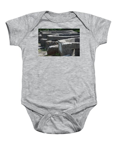 Into The Ruins 3 Baby Onesie
