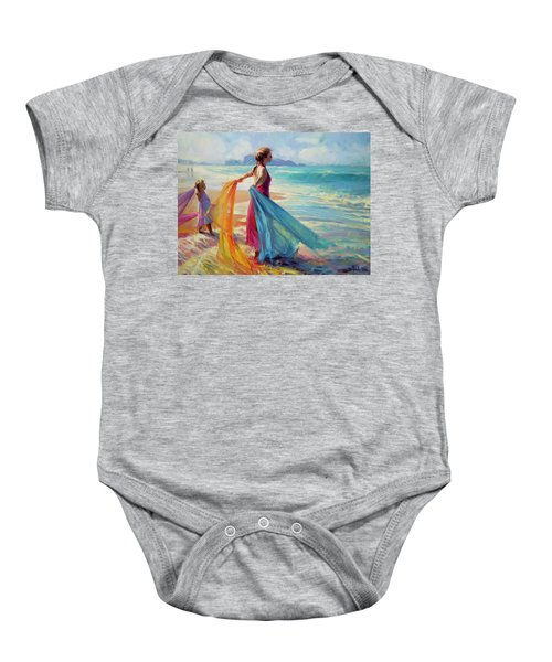Into The Surf Baby Onesie