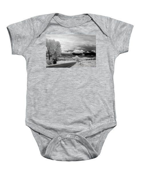 Invisible Drive Baby Onesie