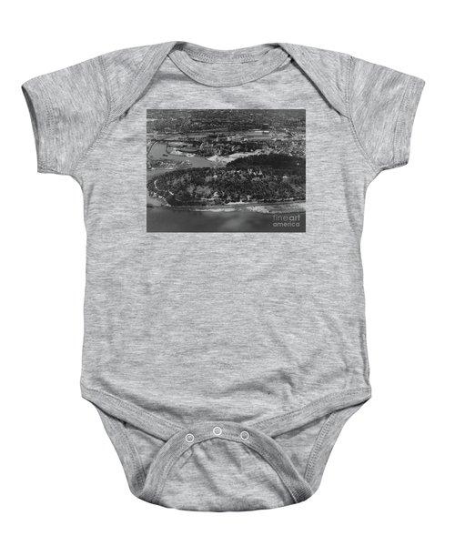 Inwood Hill Park Aerial, 1935 Baby Onesie