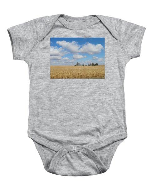 Iowa 3 Baby Onesie