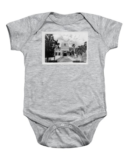 Island Church  Baby Onesie