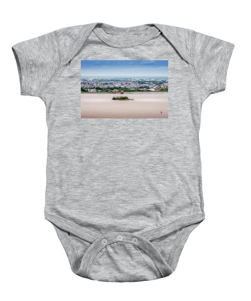 Island In The River Baby Onesie