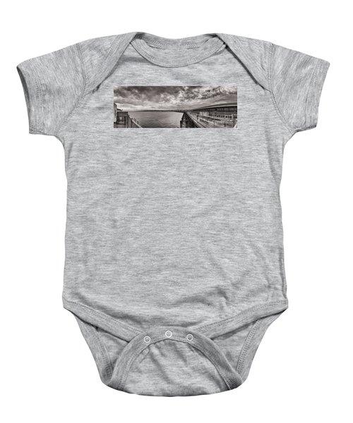 Island Panorama - Ryde Baby Onesie