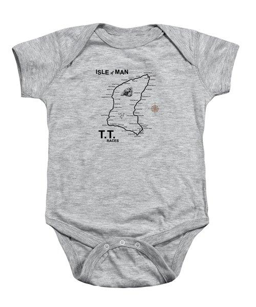 Isle Of Man Tt Baby Onesie by Mark Rogan