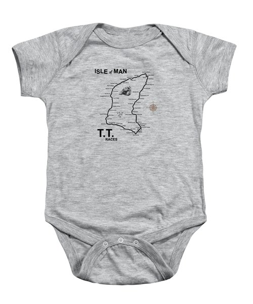 Isle Of Man Tt Baby Onesie
