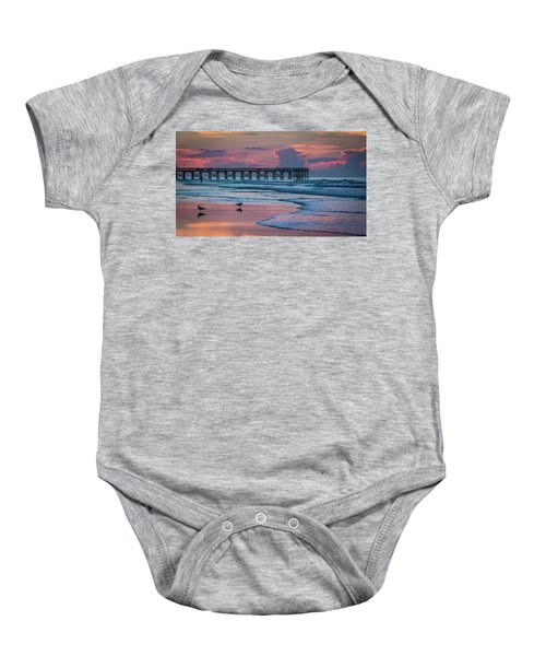 Isle Of Palms Morning Baby Onesie