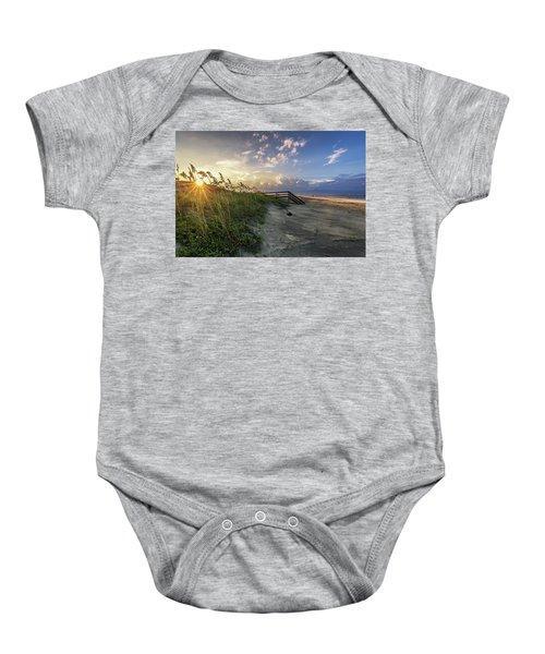 Isle Of Palms Sunstar Baby Onesie