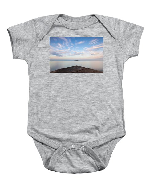 Islet Baraban With Lighthouse Baby Onesie