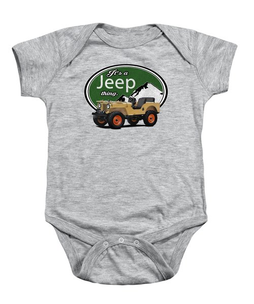 It's A Jeep Thing Baby Onesie