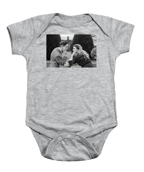 It's In The Eyes Bw Baby Onesie