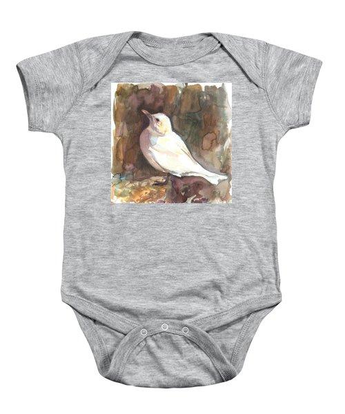 Ivory Gull Baby Onesie