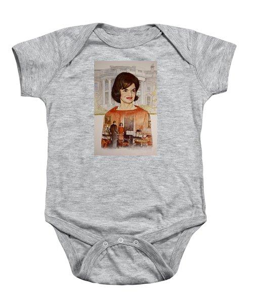 Jacqueline Kennedy Onassis  Baby Onesie
