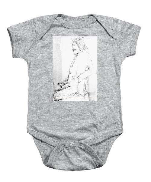 James Whistler's Portrait Baby Onesie