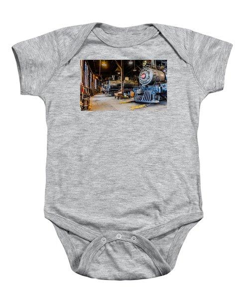 Jamestown Roundhouse Baby Onesie