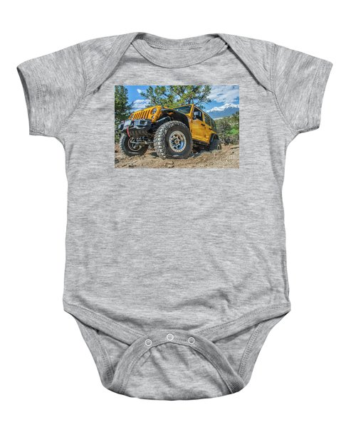 Jeep Life Baby Onesie