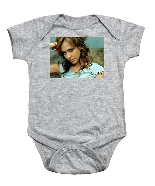 Jessica Alaba Baby Onesie