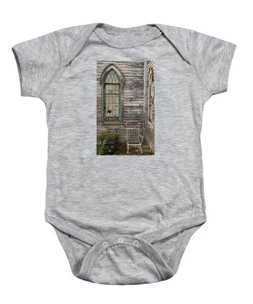Jesus Has Left The Building Baby Onesie