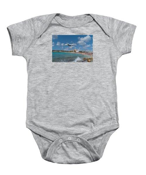 jetBlue at St. Maarten Baby Onesie