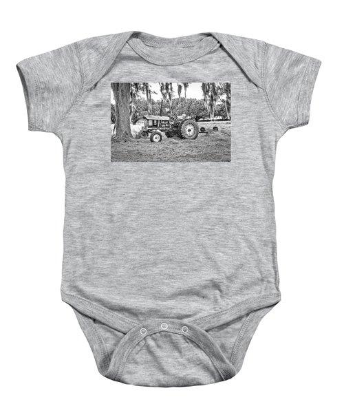 John Deere - Hay Rake Baby Onesie