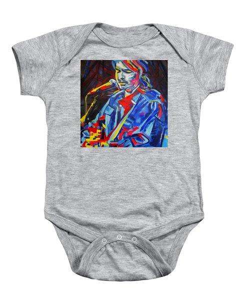 John Prine #3 Baby Onesie