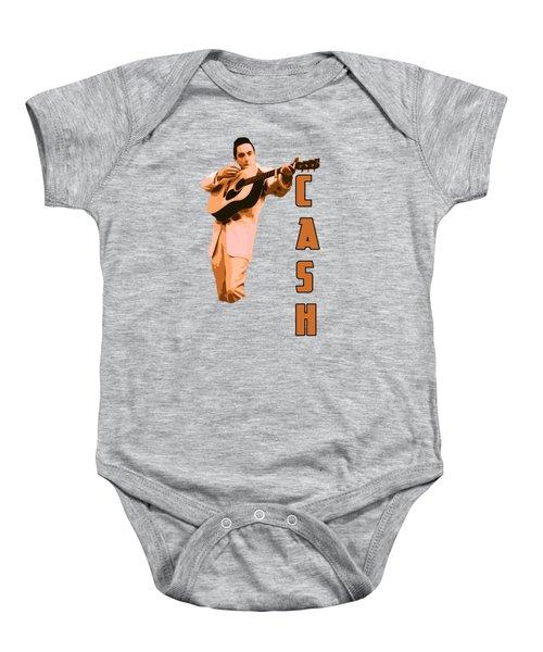 Johnny Cash The Legend Baby Onesie
