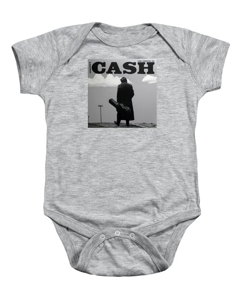Johnny Cash Baby Onesie by Tom Carlton