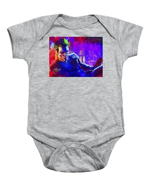 Joker's Grin Baby Onesie