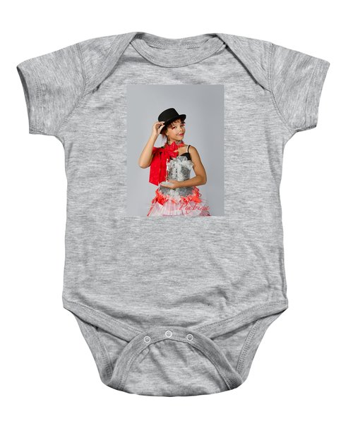 Jordan In Plastic Cup Can Can Dress Baby Onesie