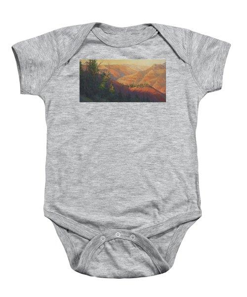 Joseph Canyon Baby Onesie
