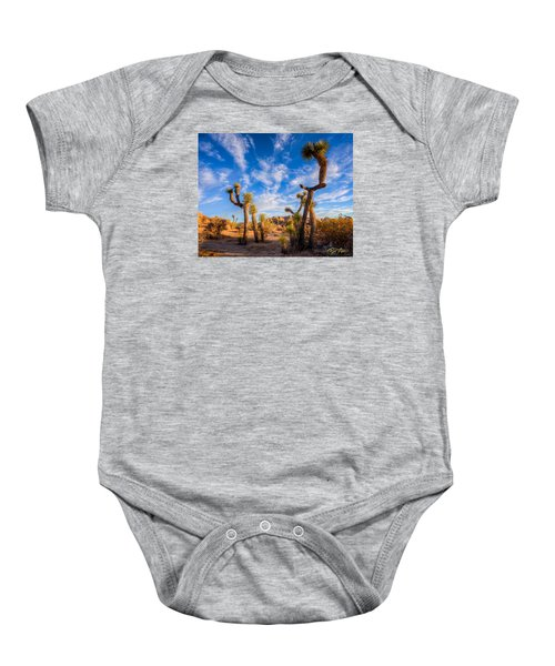 Baby Onesie featuring the photograph Joshua Tree Dawn by Rikk Flohr